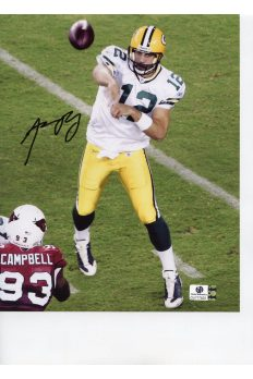 Aaron Rodgers 8x10 Photo Signed Autographed