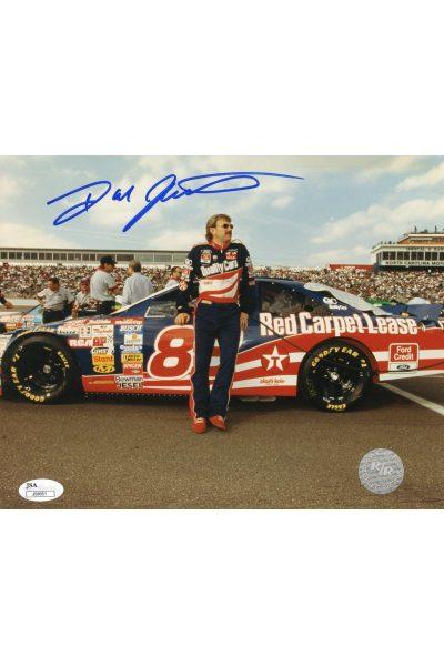 Dale Jarrett 8x10 Photo Signed Autographed Auto JSA Authenticated NASCAR