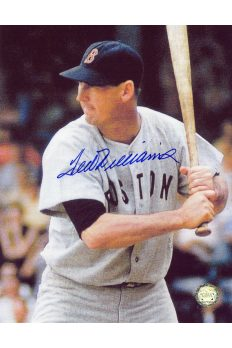 Ted Williams Signed 8x10 Photo Autographed