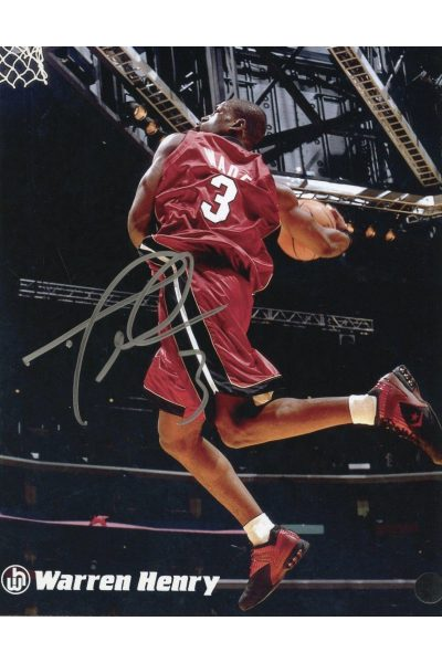 Dwyane Wade 8x10 Photo Signed Autographed Authenticated COA Miami Heat