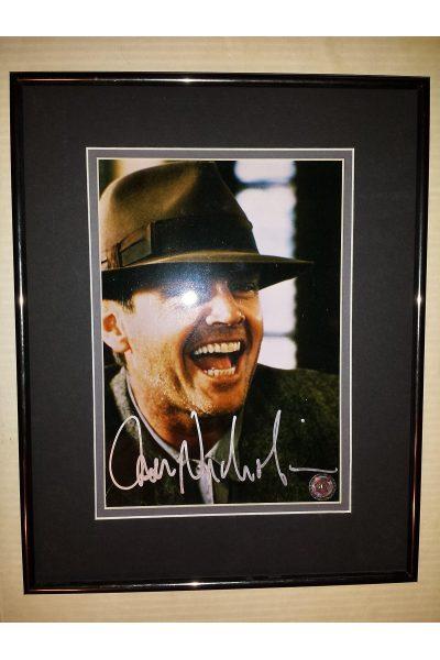 Jack Nicholson 8x10 Signed Autographed Framed