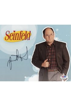 Jason Alexander 8x10 Photo Signed Auto PSA DNA George Costanza Seinfeld JSA
