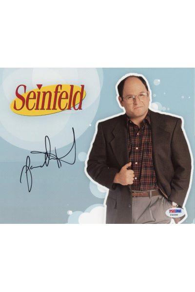 Jason Alexander 8x10 Photo Signed Auto PSA DNA George Costanza Seinfeld JSA