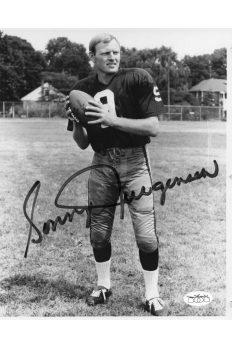 Sonny Jurgensen 8x10 Photo Signed Autographed Auto JSA COA Redskins HOF Duke