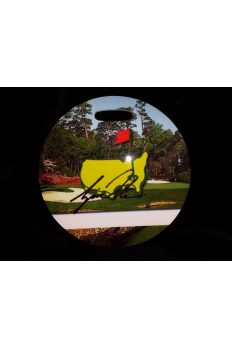 The Masters Golf Bag Tag Tiger Woods Facsimile Signature Very rare Circa 1997