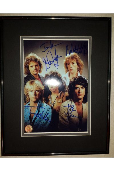 Aerosmith StephenTyler JoePerry x5 8x10 Signed Autographed Framed Band