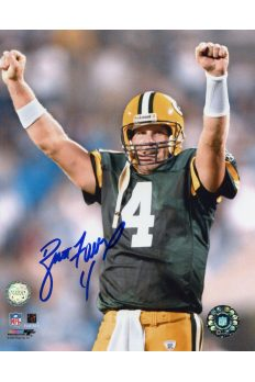 Brett Favre Signed 8x10 Photo Autographed