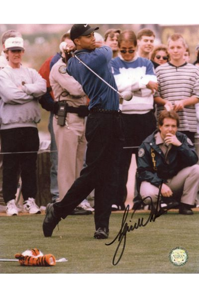Tiger Woods Signed 8x10 Photo Autographed Older
