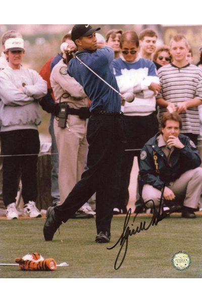 Tiger Woods Signed 8x10 Photo Autographed Older