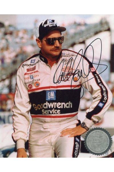 Dale Earnhardt Signed 8x10 Photo Autographed