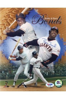Barry Bonds 8x10 Photo Signed Autographed Auto Authenticated PSA DNA Hologram