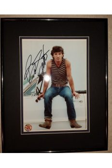 Bruce Springsteen 8x10 Signed Autographed Framed Magic