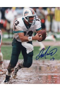 Dan Marino Signed 8x10 Photo Mounted Memories Autographed Auto Handoff COA