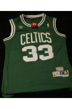 Larry Bird Signed Autographed Jersey Boston Celtics