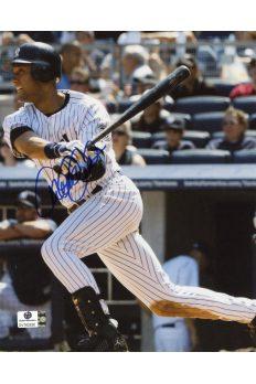 Derek Jeter Signed 8x10 Photo Autographed Auto GA GAI COA Yankees HOF