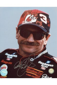 Dale Earnhardt Signed 8x10 Photo Portrait Autographed