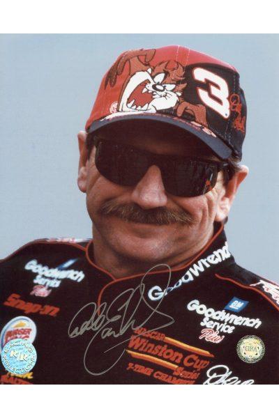 Dale Earnhardt Signed 8x10 Photo Portrait Autographed