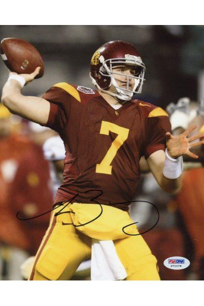 Matt Barkley 8x10 Photo Signed Autographed Auto PSA DNA COA USC Trojans Eagles