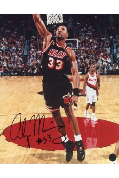 Alonzo Mourning 8x10 Photo Signed Autographed Auto Authenticated COA Heat