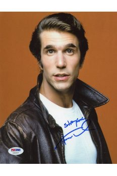 Henry Winkler 8x10 Photo Signed Autographed Auto PSA DNA COA the Fonz Happy Days
