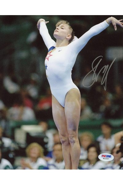 Shannon Miller 8x10 Photo Signed Autographed Auto PSA DNA Olympic Gold Gymnast