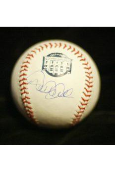Derek Jeter Signed Baseball Autographed Steiner Yankee Stadium Final Season