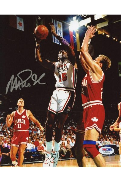 Earvin Magic Johnson 8x10 Photo Signed Autographed Auto PSA DNA COA Lakers USA