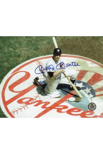 Mickey Mantle Signed 8x10 Photo Autographed