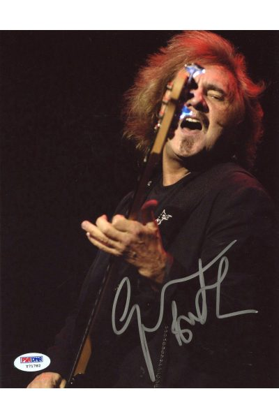 Geezer Butler 8x10 Photo Signed Autographed Auto PSA DNA Black Sabbath Ozzy