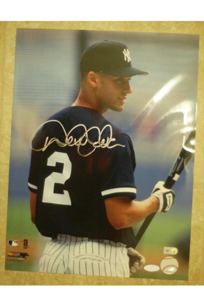 Derek Jeter 11x14 Photo Signed Autographed Auto COA Steiner Sports Yankees