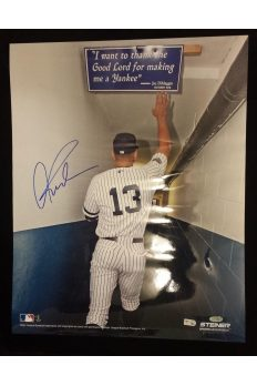 Alex Rodriguez 11x14 Photo Signed Autographed Auto COA Steiner Sports Yankees