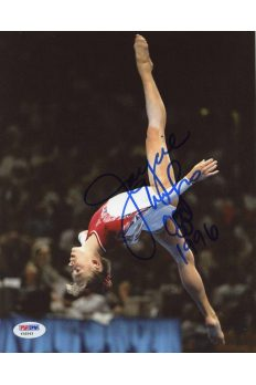 Jaycie Phelps 8x10 Photo Signed Autographed Auto PSA DNA Olympc gymnist 96 Gold