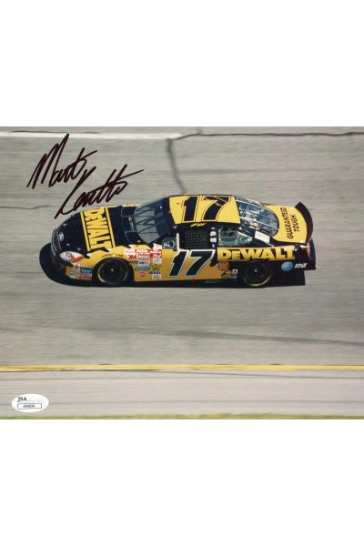 Matt Kenseth 8x10 Photo Signed Autographed Auto Authenticated JSA COA NASCAR