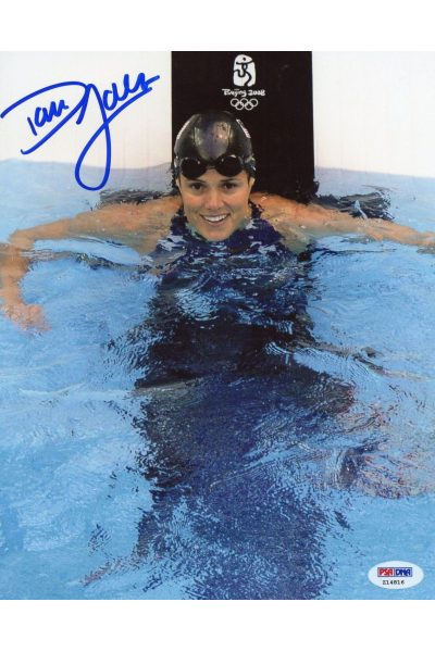 Dara Torres 8x10 Photo Signed Autographed Auto PSA DNA Olympic Gold Swimming