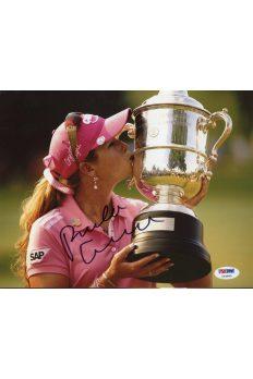 Paula Creamer 8x10 Photo Signed Autographed Auto PSA DNA COA Golf Sexy Lpga