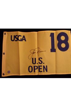 Jack Nicklaus Signed US Open Flag Autographed