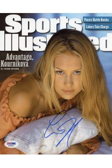 Anna Kournikova 8x10 Photo Signed Autographed Auto PSA DNA COA Sexy Tennis