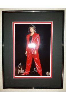 Rod Stewart 8x10 Signed Autographed Framed