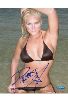 Brooke Hogan 8x10 Photo Signed Autographed Auto COA Tristar Knows Best Hulk
