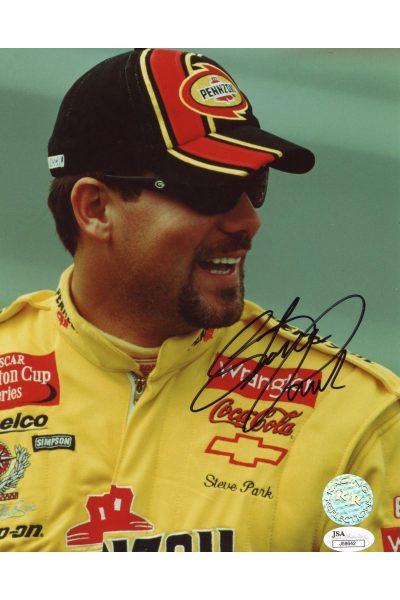 Steve Park 8x10 Photo Signed Autographed Auto Authenticated COA NASCAR