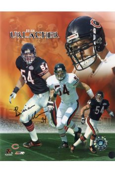 Brian Urlacher 8x10 Photo Signed Autographed Authenticated COA Bears