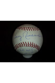 Bobby Richardson Signed Offical Baseball Autographed Auto Steiner 60 Ws MVP