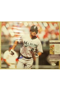 Mike Giancarlo Stanton 11x14 Photo Signed Autographed Auto JSA Marlins