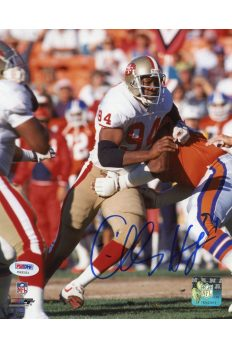 Charles Haley 8x10 Photo Signed Autographed Auto PSA DNA COA HOF Cowboys 49ers