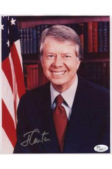 Jimmy Carter 8x10 Signed Autograph Auto JSA Authenticated US President