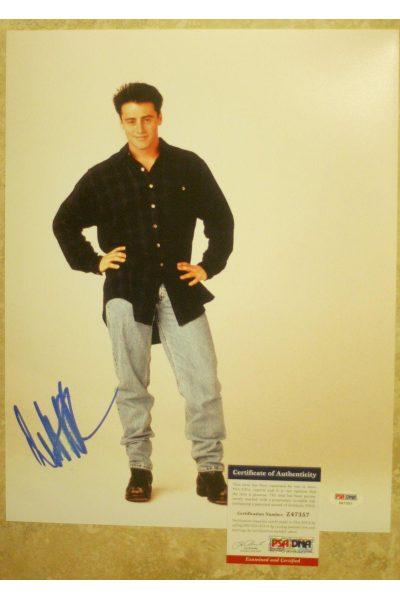 Matt LeBlanc 11x14 Photo Signed Autographed Auto PSA DNA