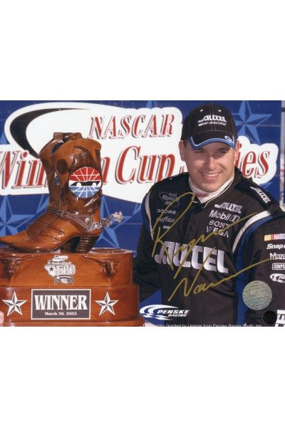 Ryan Newman 8x10 Photo Signed Autographed Auto Authenticated COA NASCAR