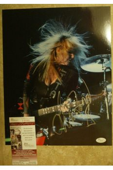 Lita Ford 11x14 Photo Signed Autographed Auto JSA COA Runaways Kiss Me Deadly