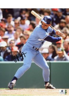 George Brett Signed 8x10 Photo Autographed Auto GA GAI COA Royals HOF