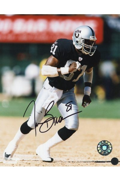 Tim Brown 8x10 Photo Signed Autographed Auto Authenticated COA Raiders